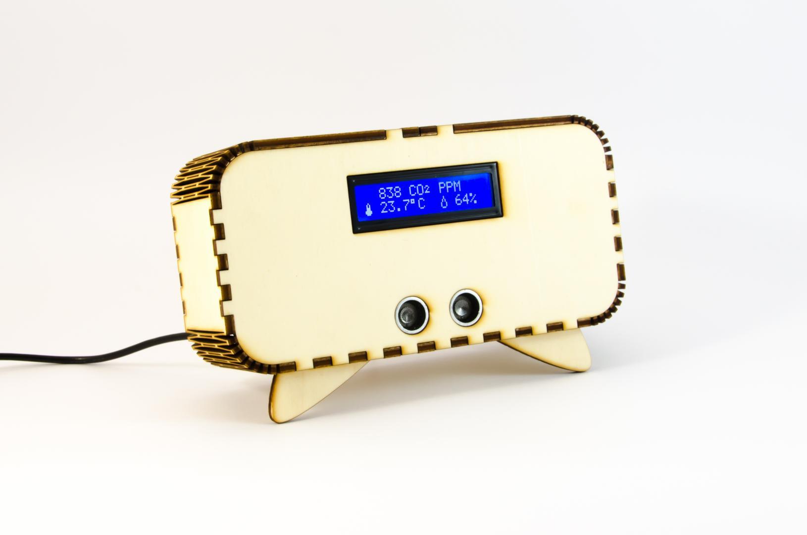 Indoor air quality sensor with ESP8266